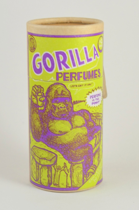 lush gorilla perfume packaging